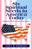 Download Six spiritual needs in America today