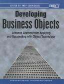 Developing business objects by Andy Carmichael
